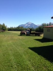 Alaskan farm photo