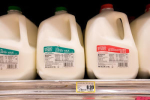 Barrow Alaska milk prices